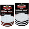 "<b>Meguiars DA 5"" Microfiber Cutting & Finishing Pad 6 Pack</b>"
