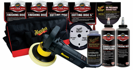 Meguiars G110V2 Dual Action Polisher - Microfiber Paint Correction Kit