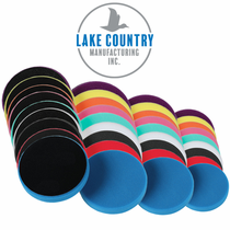 Lake Country Prepolymer Low Profile Flat Cutback DA Pads