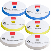 "<b> RUPES BigFoot 6.5"" Gear Driven Mille Foam Polishing Pad 6 Pack  </b>"