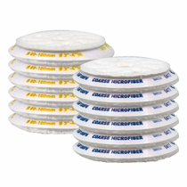 <b>RUPES BigFoot 100 mm  Microfiber Polishing Pad  12 Pack</b>