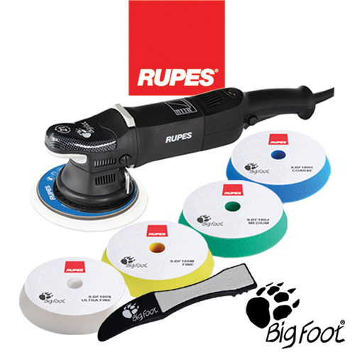 RUPES BigFoot Random Orbital & Rotary Polisher Kits