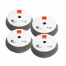 "<b>RUPES BigFoot UHS Easy Gloss 4"" Foam Polishing Pad Bulk 4 Pack </b>"