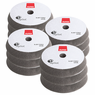 "<b>RUPES BigFoot UHS Easy Gloss 6"" Foam Polishing Pad Bulk 12 Pack </b>"