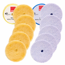 "<b>RUPES BigFoot Wool 5.75"" Orbital Polishing Pad Mix & Match 12 Pack</b>"