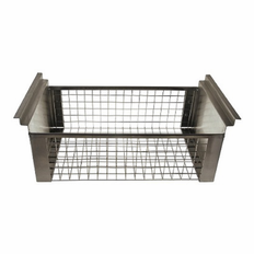 "18 Gallon Stainless Steel Basket 23.5""L X 18"" W X 7"" Deep"