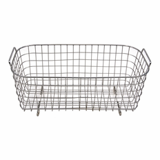 "6 Liter Stainless Steel Basket  Dimensions 10x4x4""Deep"