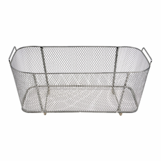 6 Liter Stainless Steel Fine Mesh Basket Dimensions 10�Lx 4�W x4�Deep