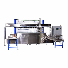 Three Tank System; Clean Rinse Dry With 50 lbs Load Capacity - Load and Unload Conveyor.