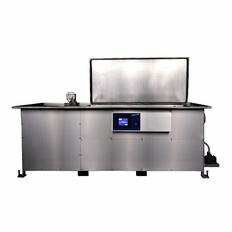 Automatic Ultrasonic Cleaner with optional Weir and Spray Jet 105 Gallon