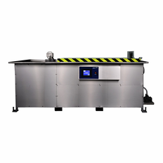 Automatic Ultrasonic Cleaner with optional Weir and Spray Jet 165 Gallon
