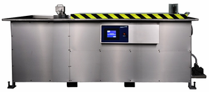 Automatic Ultrasonic Cleaners with Weir
