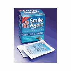 Denture Cleaner Packets For Cleaning Dentures Retainers