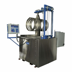 Dual Tank Automated Ultrasonic Hoops Cleaner
