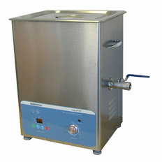 "Heated Ultrasonic Carburetor Cleaning System XPS450-11L 12""LX9""WX6""D 3.5 Gal. with Sweep and Degas by Sharpertek USA."