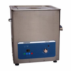 "Heated Ultrasonic Cleaner SH500-15L 4.5 Gal. 11.5""�11""�8"" (Tank L�W�Depth) with Sweep and Degas. Made in USA"