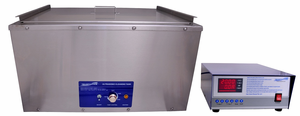 Large Heated Ultrasonic Cleaner 18 Gal.