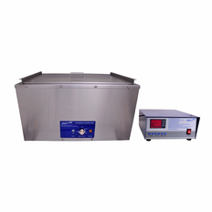 "Large Heated Ultrasonic Cleaner SH1200-18G-D 19""x24""x9"" (Tank WxLxDepth) with Sweep and Degas by Sharpertek USA."