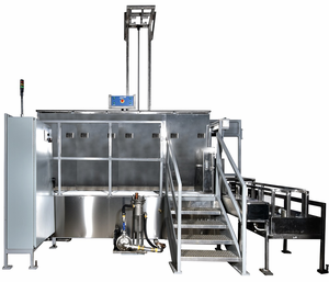 SharperTek Multi Tank Ultrasonic Cleaning System.