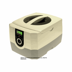 "SHARPERTEK: Professional Digital Ultrasonic Cleaner, Medical, Parts and Dental Clinics CD-4800 Tank Size 6.75"" x 5.38"" x 2.75 ""( L x W x H )"