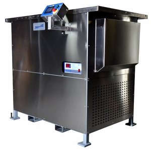 Two Stage Ultrasonic Vapor Degreaser Refrigeration Cooled. US-RC