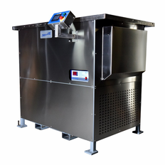 Two Stage Ultrasonic Vapor Degreaser Refrigeration Cooled 50 Gallon