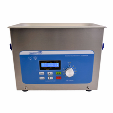 "Heated Ultrasonic Cleaner XPS240-4L 12"" � 6"" � 3.75"" (Tank L � W � Depth)  with Sweep and Degas by Sharpertek USA."