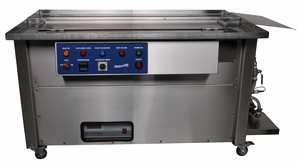 """Ultrasonic Gun Cleaner; Dual Tank Rifle Cleaner 56"""" Cover and Heat"""