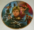 1996 Collector Plate Hamilton Collection Star Wars Luke Skywalker