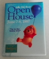 1997 Pinback Button Pooh Open House Event WDCC
