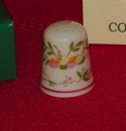 Adrienne Coimbra Porcelain Portugal Thimble Collectors Club