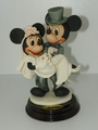 Armani Disney Figurine Mickey Mouse and Minnie Mouse Bride and Groom Figurine 2147C SOLD