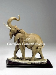 G. Armani Elephant Figurine 524 C with Original Box & All Paperwork & Hang Tag SOLD