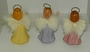 Attitude Collectible Angels Figurine: Set Of Three by The Bradford Exchange
