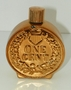 Avon Vintage Bravo Aftershave Coin Bottle 1877 Penny 4 fl oz size