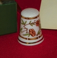 Bamboo Hammersley Porcelain England Thimble Collectors Club