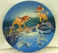 Disney Collector Plate Bashful Bambi From Bambi Series