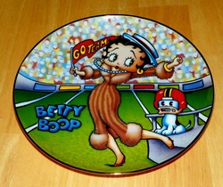 Collector Plate Betty Boop America's Sweetheart Homecoming Queen Danbury Mint