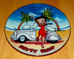 Collector Plate Betty Boop America's Sweetheart This is the Life Danbury Mint Out of Stock