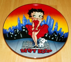 Collector Plate Betty Boop America's Sweetheart Toast of the Town Danbury Mint