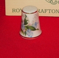 Blossoms of Spring Royal Grafton China Porcelain England Thimble Collectors Club