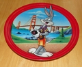 Collector Plate Bugs Bunny Commemorating a Classic California Bugs