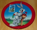 Collector Plate Bugs Bunny Commemorating a Classic First Class Wabbit