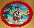Collector Plate Bugs Bunny Commemorating a Classic Honolulu Hare