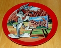 Collector Plate Bugs Bunny Commemorating a Classic Mount Rushbunny