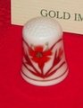 Bussan Gold Imari Arita Porcelain Japan Thimble Collectors Club