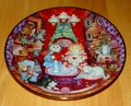 Cats Bill Bell  Franklin Mint Heirloom Holiday Collector Plates