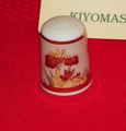 Cho-kin Kiyomasa Porcelain Japan Thimble Collectors Club