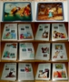 Classic Disney Movies Set Postal Commemorative Society Stamps Over 250 Stamps 26 movies with 6 panels each makes it 156 panels