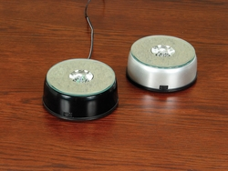 Collectible Multiple Light Base & Turntable LED Black Case
